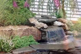 waterfall design